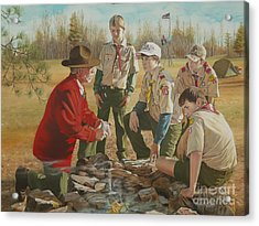 Scout Master's Legacy Acrylic Print