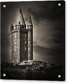Scrabo Tower Newtownards County Down Acrylic Print by Jane McIlroy