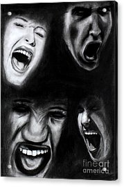 Scream Acrylic Print
