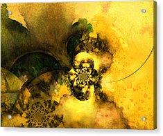 Scream Of Nature Acrylic Print by Miki De Goodaboom