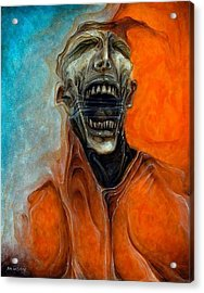 Scream Till No One Hears You Acrylic Print