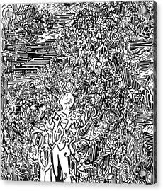 Scream Acrylic Print by Zachary Worth