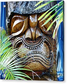 Screaming Tiki  Acrylic Print