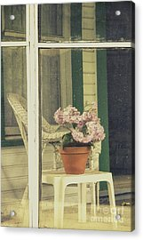 Screened Porch Acrylic Print by Margie Hurwich