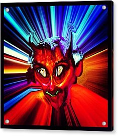 Screwtape - A Younger Novice Devil Acrylic Print