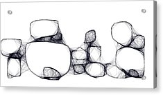 Scribrocks Acrylic Print