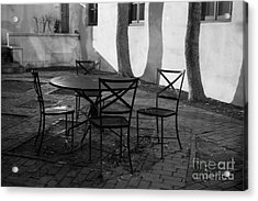Scripps College Courtyard Acrylic Print by University Icons