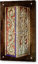 Scrolled Column Acrylic Print