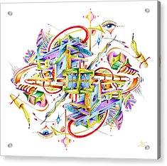 Scryll Acrylic Print