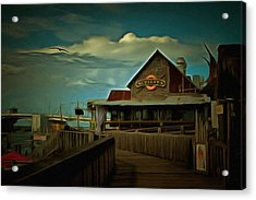 Sculley's Acrylic Print