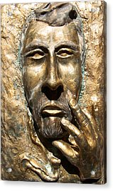 Sculpting  Van Gogh Acrylic Print by Azul Fam