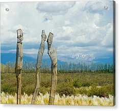Sculpture In The Andes Acrylic Print