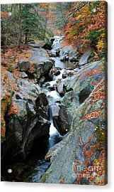 Sculptured Rocks Acrylic Print