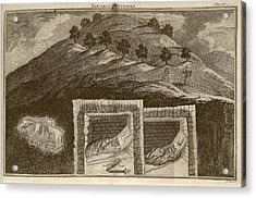 Scythian Burial Mounds Acrylic Print by Middle Temple Library