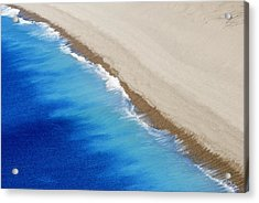 Sea And Sand Acrylic Print by Wendy Wilton
