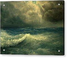 Sea And Sky Acrylic Print