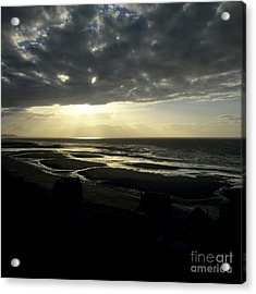 Sea And Stormy Sky Acrylic Print