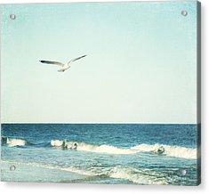 Sea Breeze Acrylic Print by Carolyn Cochrane