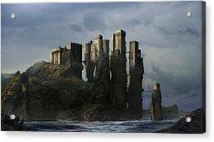 Sea Castle Acrylic Print