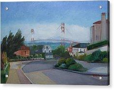 Sea Cliff Area San Francisco  Acrylic Print