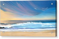 Sea Coast Escape Acrylic Print