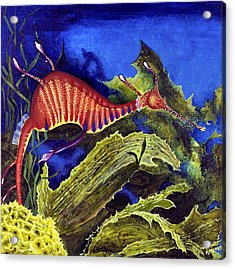 Sea Dragon Acrylic Print