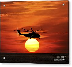Sea Dragon Sunset Acrylic Print