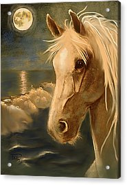Acrylic Print featuring the painting Sea Dream by Terry Webb Harshman