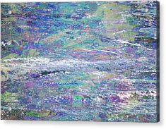 Sea Expressions Acrylic Print by John Fish