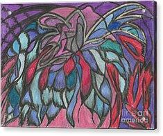 0044 Sea Flower Acrylic Print by Essel Emve