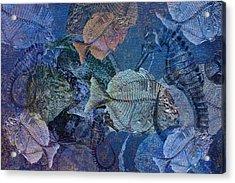 Sea Fossil World Acrylic Print