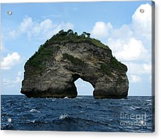Sea Gate Acrylic Print by Sergey Lukashin