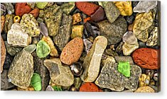 Sea Glass Acrylic Print