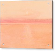 Sea Horizon Acrylic Print by J Reifsnyder