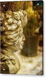 Sea Lady Acrylic Print by Terry Rowe