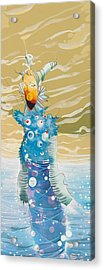 Sea Man Acrylic Print