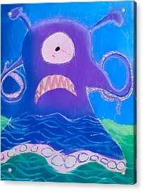 Monsterart Sludge Acrylic Print by Joshua Maddison