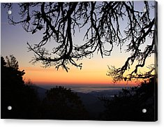 Sea Of Clouds On The Blue Ridge Acrylic Print