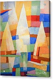 Sea Of Colors Acrylic Print