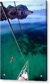 Sea Of Cortez Acrylic Print