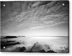 Sea Of Fog Acrylic Print by Anne Gilbert