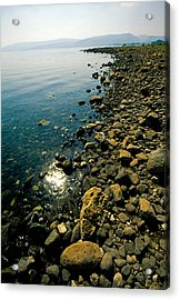 Sea Of Galilee Shore Acrylic Print