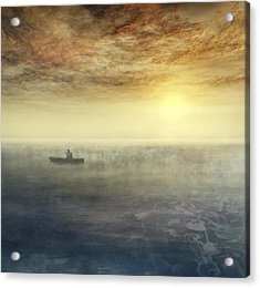 Sea Of Music Acrylic Print by Akos Kozari