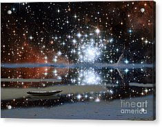 Sea Of Stars V1 Acrylic Print by Gregory Smith