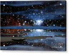 Sea Of Stars V2 Acrylic Print by Gregory Smith