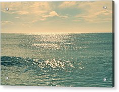 Sea Of Tranquility Acrylic Print by Laura Fasulo