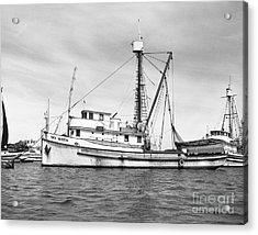 Purse Seiner Sea Queen Monterey Harbor California Fishing Boat Purse Seiner Acrylic Print