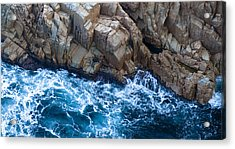 Sea Rocks Acrylic Print by Frank Tschakert