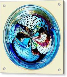 Sea Shell Orb Acrylic Print by Paulette Thomas