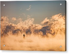Sea Smoke Acrylic Print by Robert Clifford